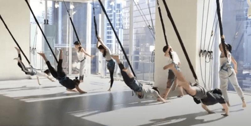 BUNGEE WORKOUT: Treino elástico que mistura dança com acrobacias