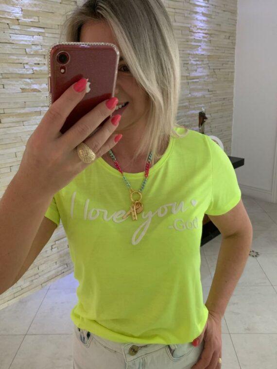 t-shirt verde canetinha