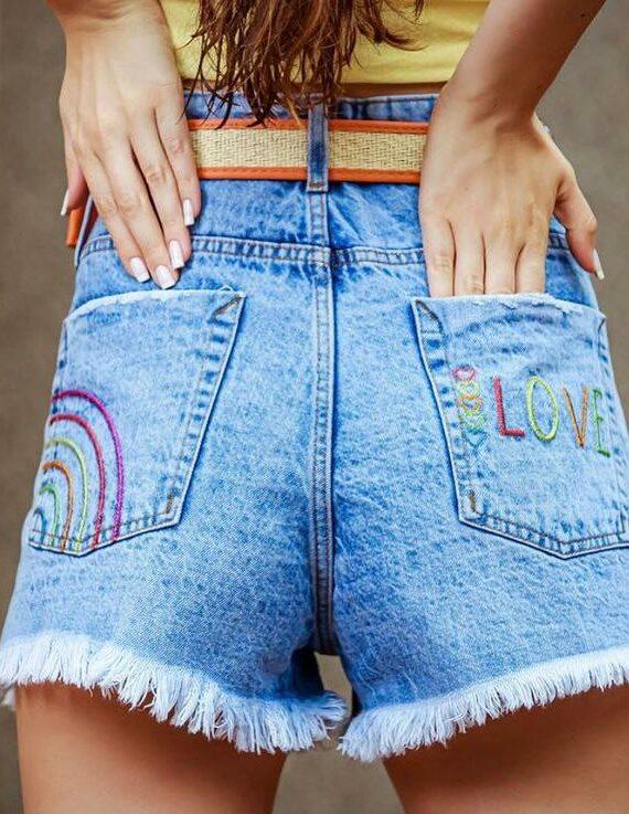 short bebela jeans