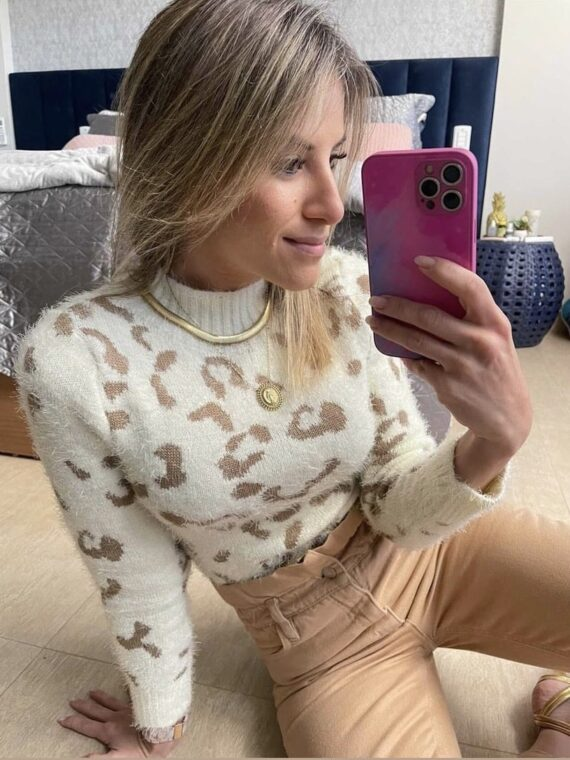 blusa tricot animal print (2)